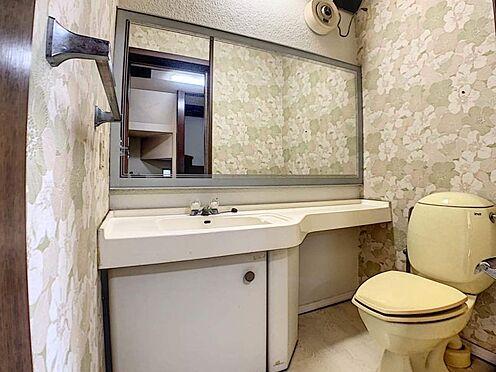 中古一戸建て-名古屋市守山区川西1丁目 2階のトイレは洗面付きです