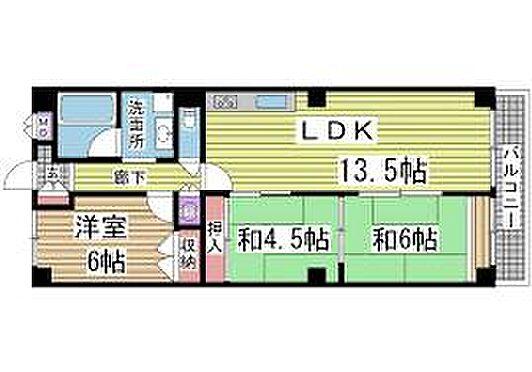 マンション(建物一部)-神戸市中央区栄町通5丁目 間取り