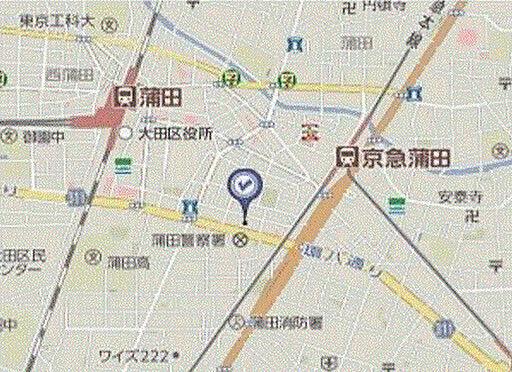 ビル(建物全部)-大田区蒲田4丁目 地図