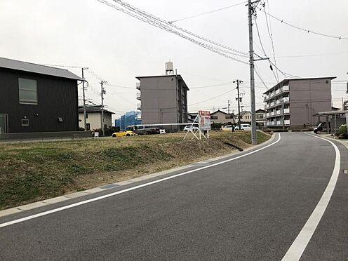 土地-豊田市花園町 整形地なので、プランも建てやすく駐車場もお家の目の前にお作りいただけます!