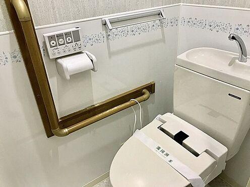 中古マンション-吹田市新芦屋上 トイレ