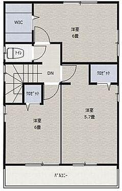 中古一戸建て-安城市里町大道山 2階 バルコニー側の部屋は2部屋になっております