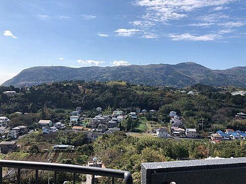 中古マンション-賀茂郡東伊豆町奈良本 【眺望】稲取の山々を一望します。