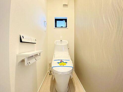 新築一戸建て-福岡市南区西長住3丁目 2Fもシャワートイレです!お掃除のしやすい仕様になっております!