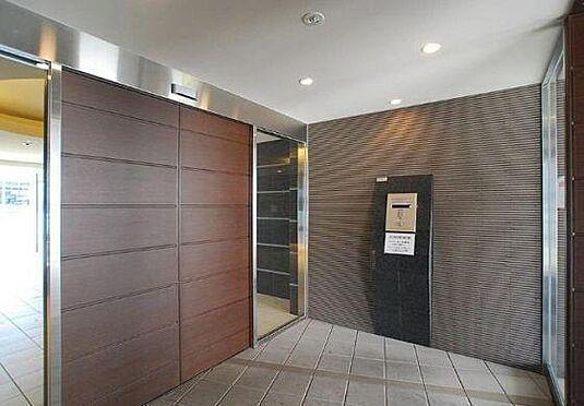 マンション(建物一部)-大阪市浪速区幸町3丁目 出入り口もセキュリティ良し