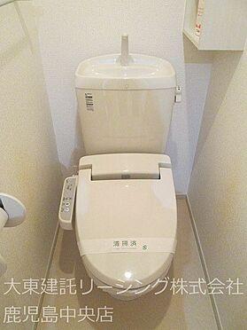 アパート-宮崎市清武町岡2丁目 I2階トイレ