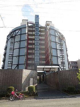 マンション(建物一部)-久留米市津福今町 エントランス側(北側)の外観です。