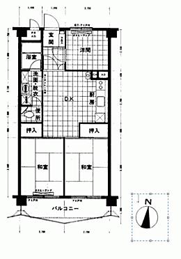 マンション(建物一部)-横浜市中区根岸旭台 間取り