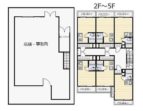 一棟マンション-堺市堺区新在家町東2丁 間取り