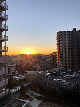 中古マンション-市川市島尻 朝日が上がってくる美しい景色