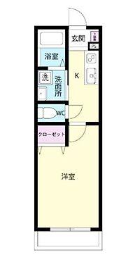 アパート-茅ヶ崎市ひばりが丘 間取り