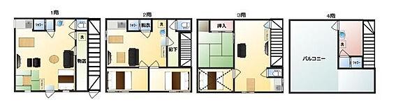 マンション(建物全部)-北区赤羽1丁目 間取り