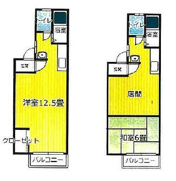 一棟マンション-函館市中島町 間取り