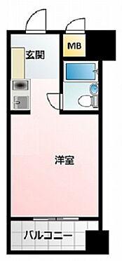 マンション(建物一部)-大阪市天王寺区悲田院町 水回りの動線をコンパクトにまとめた使い勝手がいい間取り