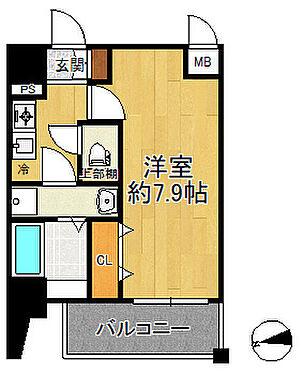 マンション(建物一部)-大阪市港区波除5丁目 間取り