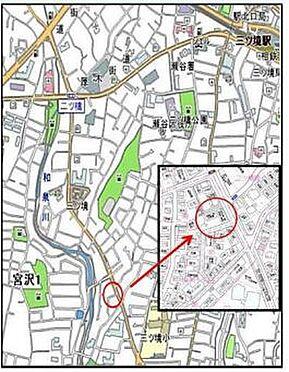 ビル(建物全部)-横浜市瀬谷区宮沢1丁目 地図