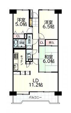中古マンション-仙台市若林区遠見塚1丁目 間取り