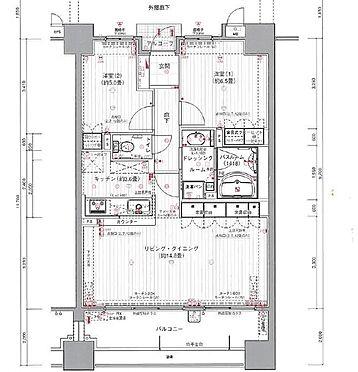 マンション(建物一部)-宮崎市高千穂通2丁目 間取り