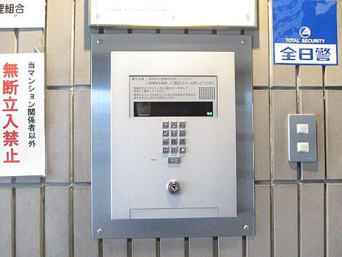 区分マンション-福岡市南区寺塚2丁目 カメラ付きオートロックインターフォン