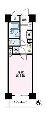 マンション(建物一部)-荒川区西日暮里1丁目 専有間取図
