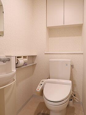 中古マンション-横浜市瀬谷区五貫目町 暖房機能、洗浄機能付きのトイレ