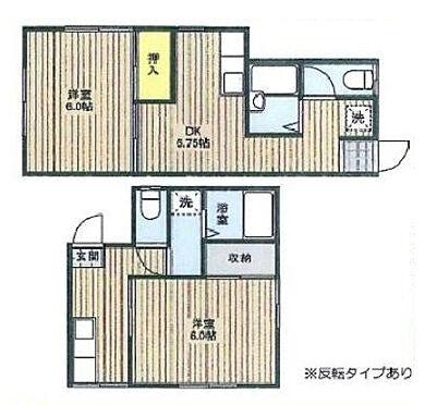アパート-野田市山崎 間取り
