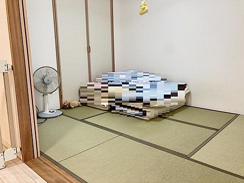 中古マンション-名古屋市緑区鳴海町字伝治山 あると便利な和室は、お昼寝や来客スペースとしてもご使用いただけます!