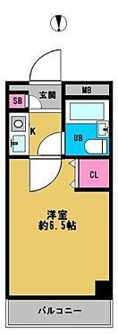 中古マンション-大阪市都島区内代町1丁目 間取り