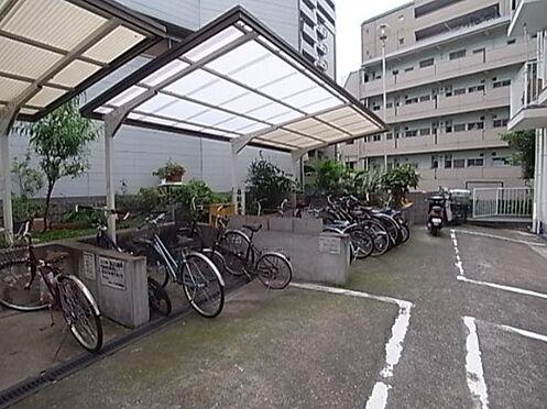 マンション(建物一部)-神戸市中央区下山手通3丁目 屋根付き駐輪場