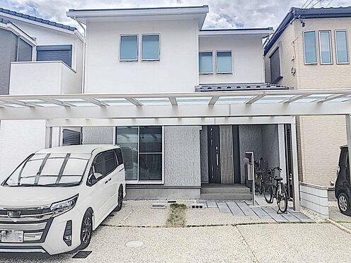 戸建賃貸-名古屋市北区北久手町 駐車並列3台可能!カーポート付きです。