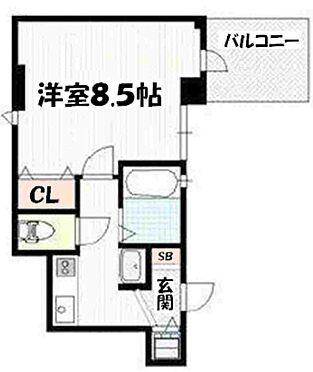 マンション(建物一部)-京都市下京区夷之町 間取り