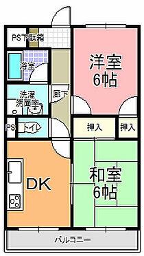 アパート-水戸市千波町 間取り