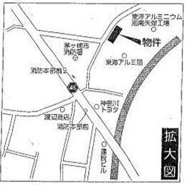 工場-茅ヶ崎市矢畑 ☆案内図☆