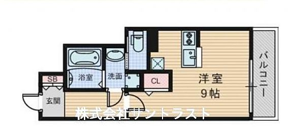 マンション(建物一部)-大阪市淀川区木川東1丁目 間取り