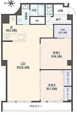 マンション(建物一部)-京都市右京区西院西貝川町 ウォークインクローゼットがあり収納に便利