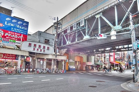 中古マンション-大阪市東成区東小橋1丁目 JR環状線・大阪メトロ千日前線・近鉄難波・奈良線・大阪線 鶴橋駅徒歩9分です