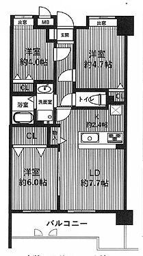 中古マンション-足立区新田2丁目 間取り