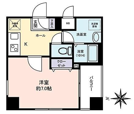 マンション(建物一部)-大田区大森西3丁目 間取り