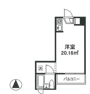 マンション(建物一部)-新宿区北新宿4丁目 間取り