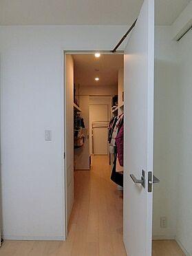 中古マンション-横浜市神奈川区橋本町2丁目 大容量のホームクローゼット