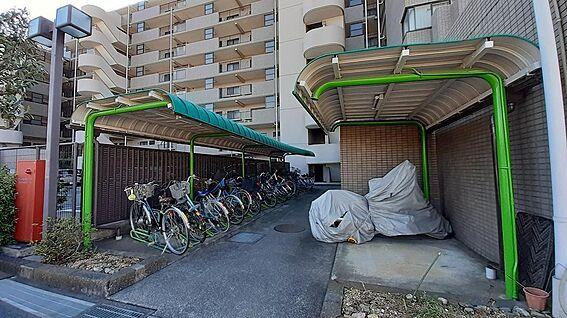 中古マンション-東松山市幸町 駐輪場
