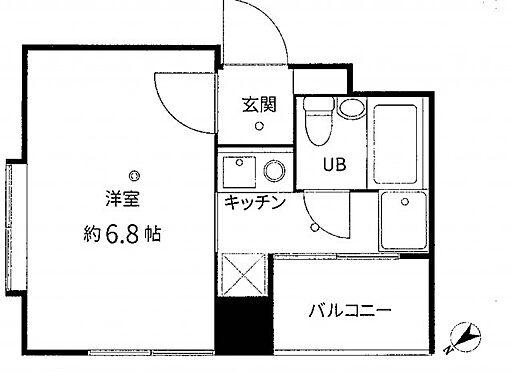 中古マンション-品川区戸越3丁目 間取り