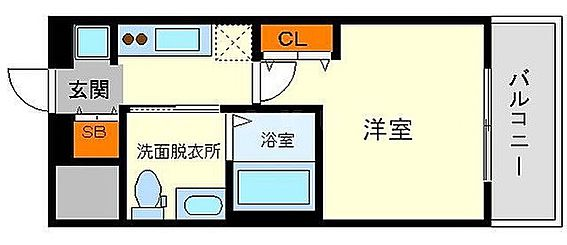 マンション(建物一部)-大阪市東淀川区東中島1丁目 2点セパレートで清潔感あり。
