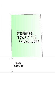 土地-仙台市青葉区中山吉成2丁目 区画図