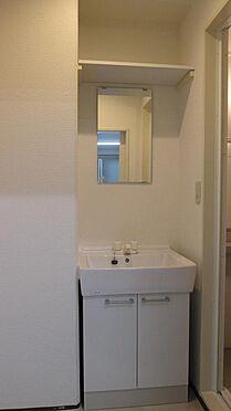 事務所(建物一部)-横浜市南区吉野町3丁目 広々洗面室