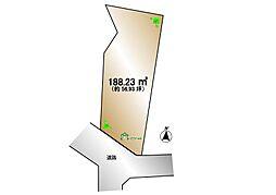 渋谷区広尾3丁目 建築条件なし土地