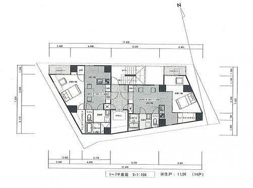 一棟マンション-新宿区戸山3丁目 1-7階