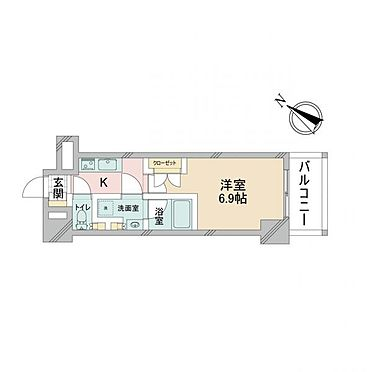 マンション(建物一部)-大阪市淀川区十三東1丁目 間取り