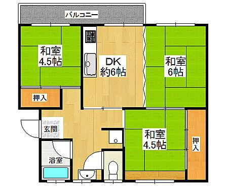 マンション(建物一部)-堺市北区東浅香山町3丁 間取り
