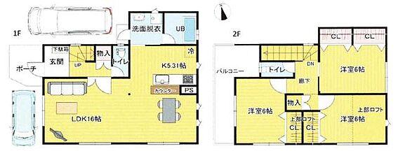 新築一戸建て-茨木市花園2丁目 間取り